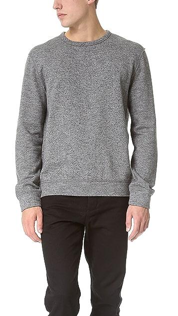 T by Alexander Wang Top Dyed Fleece Sweatshirt