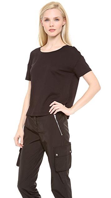 T by Alexander Wang Single Jersey Short Sleeve Tee