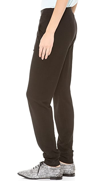T by Alexander Wang Triblend Jersey Long John Sweatpants