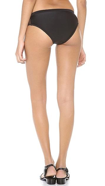 T by Alexander Wang Mesh Combo Bikini Bottoms