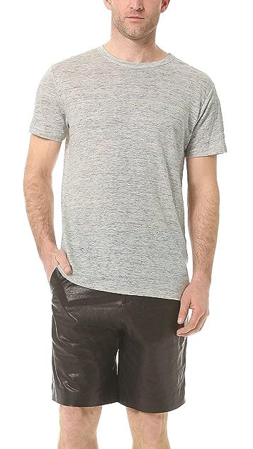 T by Alexander Wang Linen T-Shirt
