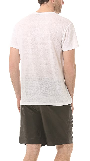 T by Alexander Wang Linen T-Shirt