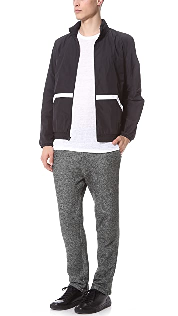 T by Alexander Wang Speckled French Terry Sweatpants