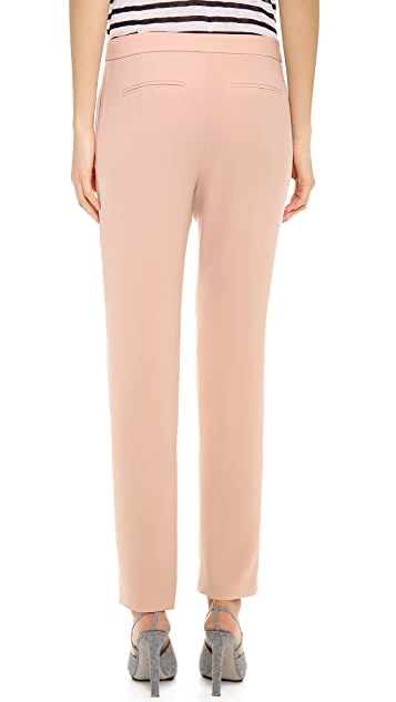T by Alexander Wang Drape Suiting Tapered Trousers