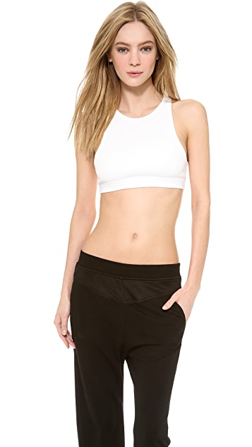 T by Alexander Wang Sandwashed Sports Bra