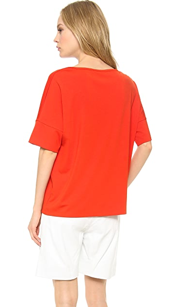 T by Alexander Wang Dolman Sleeve Crew Neck Tee