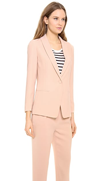 T by Alexander Wang Shawl Collar Blazer