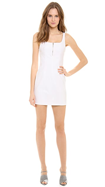 T by Alexander Wang Square Neck Dress