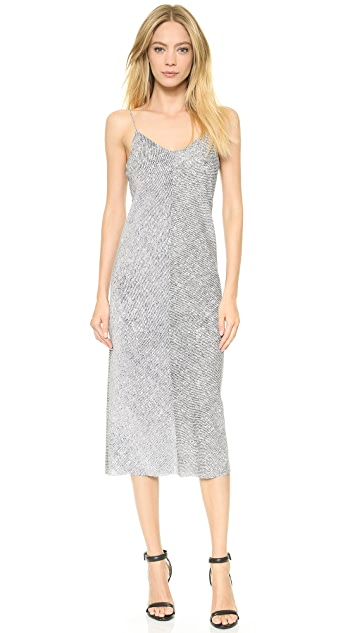 T by Alexander Wang Stretch Silk Georgette Slip Dress