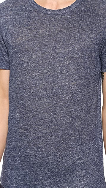 T by Alexander Wang Heathered Linen T-Shirt