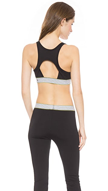 T by Alexander Wang High Density Lux Ponte Sports Bra