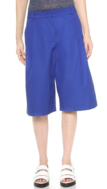 T by Alexander Wang Tech Suiting Shorts