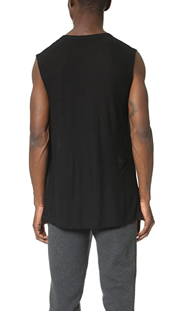 T by Alexander Wang Slub Muscle T-Shirt