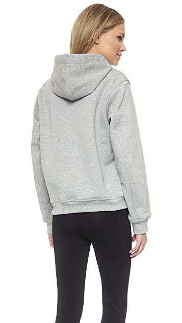 T by Alexander Wang Fleece Hoodie