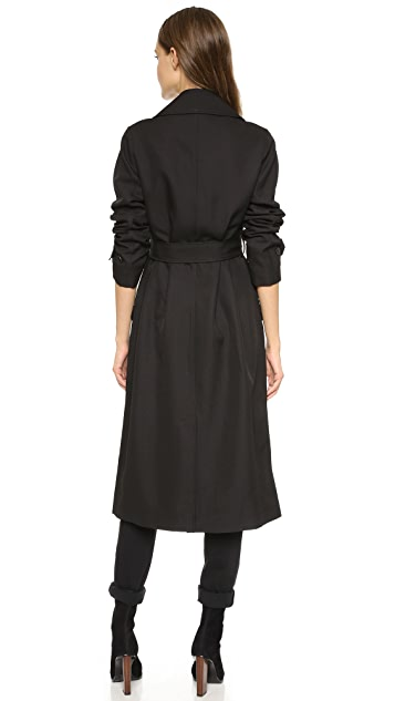 alexanderwang.t Sleek Twill Trench Coat