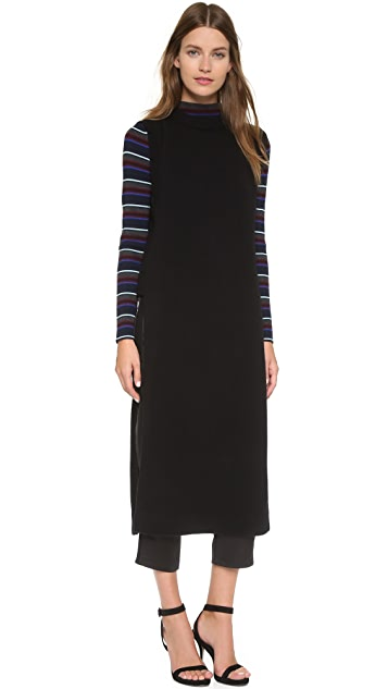 T by Alexander Wang Cashwool Floor Length Dickey