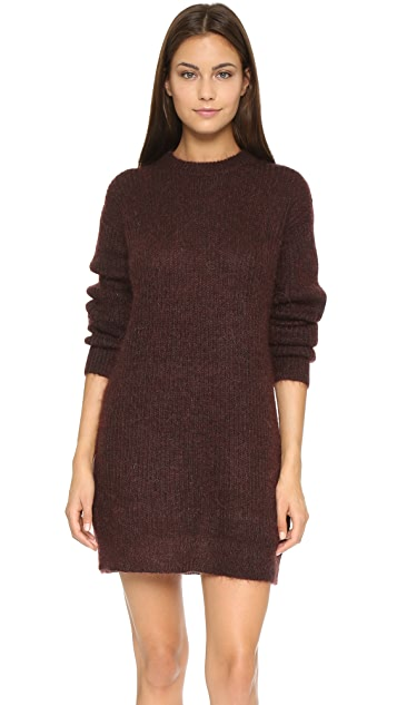 alexanderwang.t Mohair Knit Tunic Dress