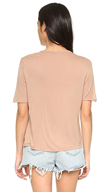 T by Alexander Wang Classic Cropped Tee