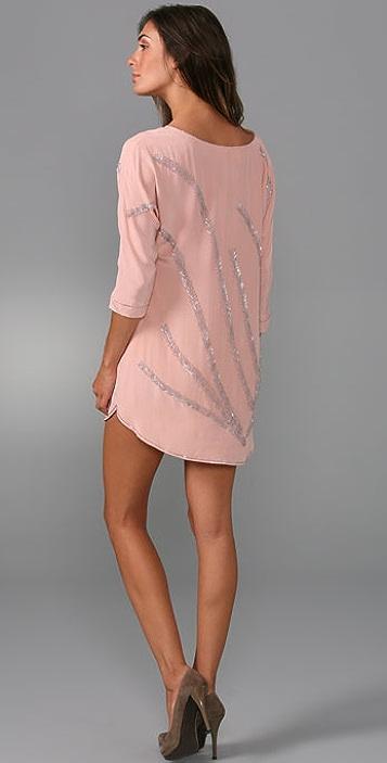 Twelfth St. by Cynthia Vincent Shirttail Mini Dress