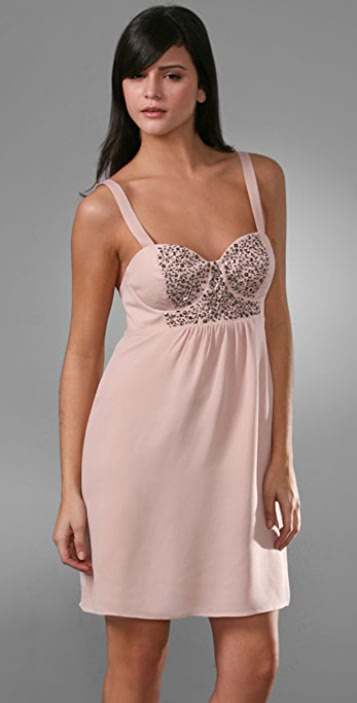 Twelfth St. by Cynthia Vincent Bra Cup Dress