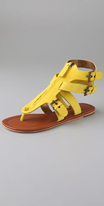 Twelfth St. by Cynthia Vincent Murray Zip Thong Sandals