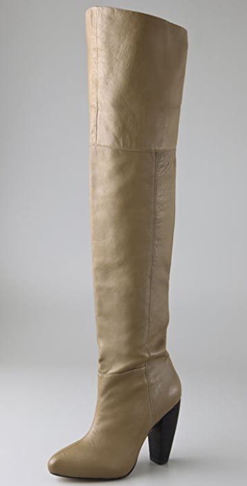 Twelfth St. by Cynthia Vincent Lindy Over the Knee Boots with Hidden Platform