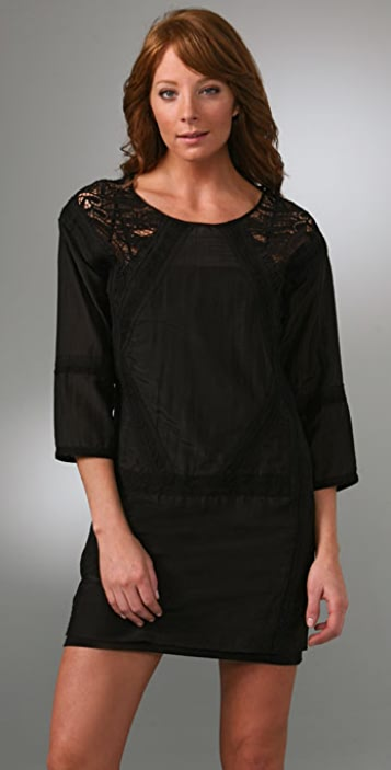 Twelfth St. by Cynthia Vincent Long Sleeve Tunic Dress