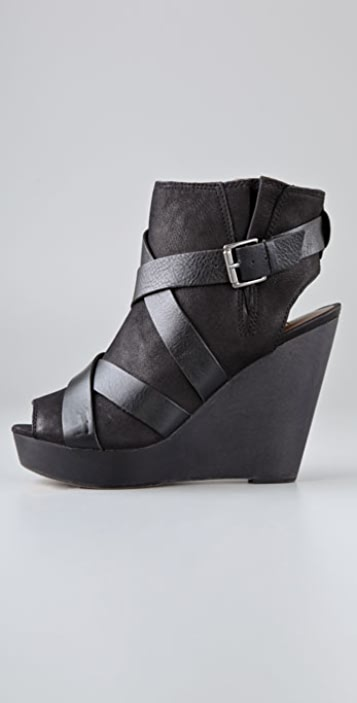 Twelfth St. by Cynthia Vincent Jiselle Wedge Booties