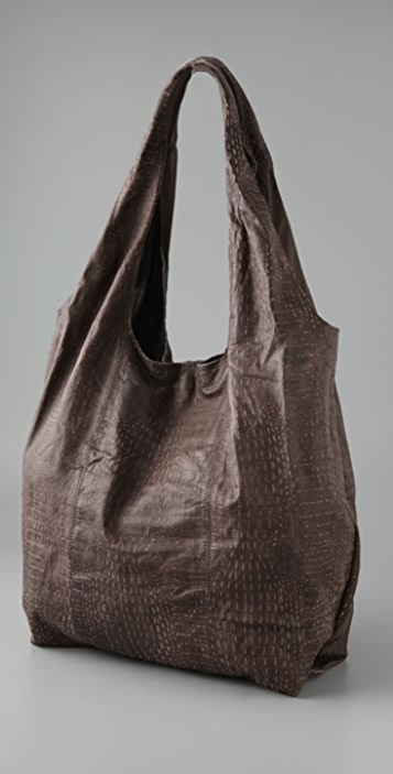 Twelfth St. by Cynthia Vincent Embossed Croc Grocery Bag