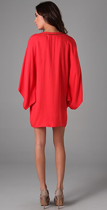 Twelfth St. by Cynthia Vincent Bibbed Tunic Dress