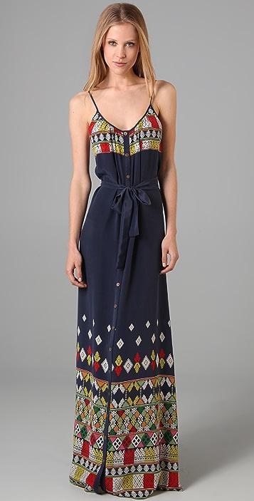 Twelfth St. by Cynthia Vincent Print Long Dress