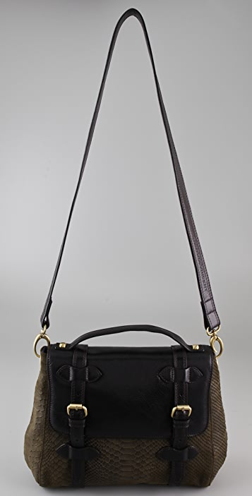 Twelfth St. by Cynthia Vincent Anderson Satchel