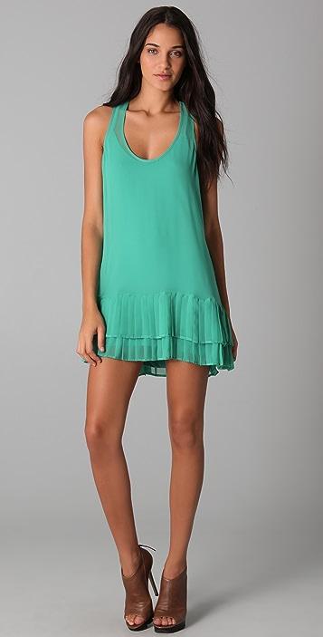 Twelfth St. by Cynthia Vincent Pleated Mini Dress