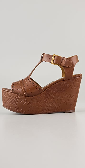Twelfth St. by Cynthia Vincent Maggie Wedge Sandals