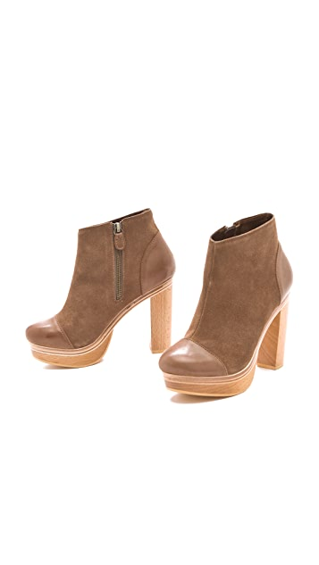Twelfth St. by Cynthia Vincent Harper Suede Booties