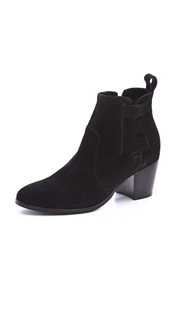 Twelfth St. by Cynthia Vincent Georgie Suede Booties
