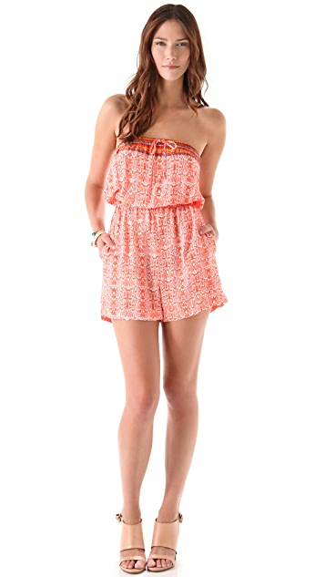 Twelfth St. by Cynthia Vincent Strapless Romper