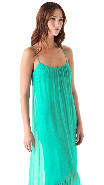 Twelfth St. by Cynthia Vincent High Low Cascade Maxi Dress