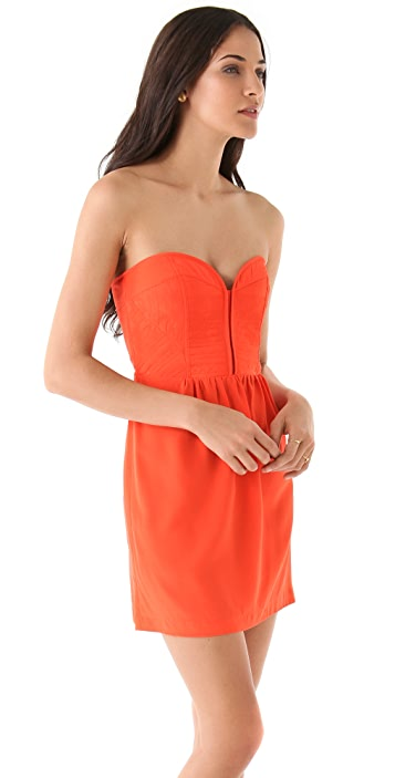 Twelfth St. by Cynthia Vincent Quilted Corset Dress