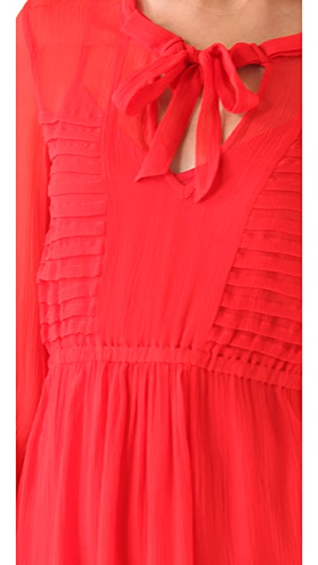 Twelfth St. by Cynthia Vincent Pleated Shirtdress