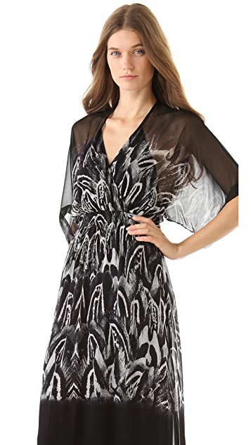 Twelfth St. by Cynthia Vincent Kimono Maxi Dress