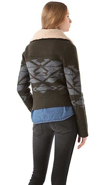 Twelfth St. by Cynthia Vincent Aztec Moto Jacket