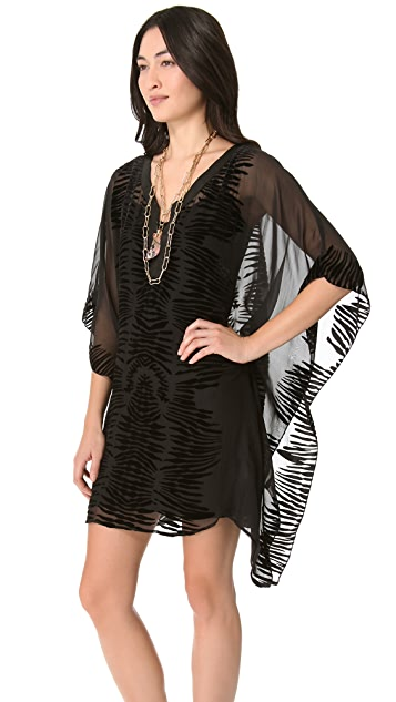 Twelfth St. by Cynthia Vincent Cocktail Caftan Dress