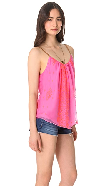 Twelfth St. by Cynthia Vincent Leather Strap Camisole