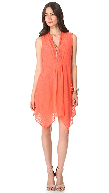 Twelfth St. by Cynthia Vincent Draped Tank Dress