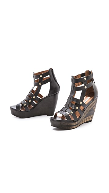 Twelfth St. by Cynthia Vincent Lulu Wedge Sandals