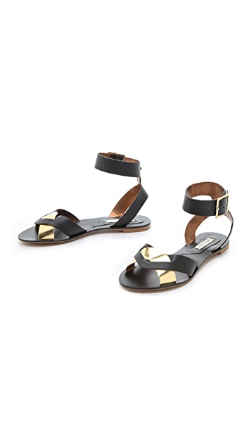 Twelfth St. by Cynthia Vincent Flora Flat Sandals