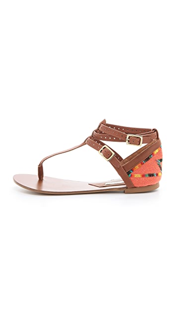 Twelfth St. by Cynthia Vincent Fanny Flat Sandals