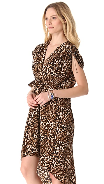 Twelfth St. by Cynthia Vincent High Low Caftan Dress
