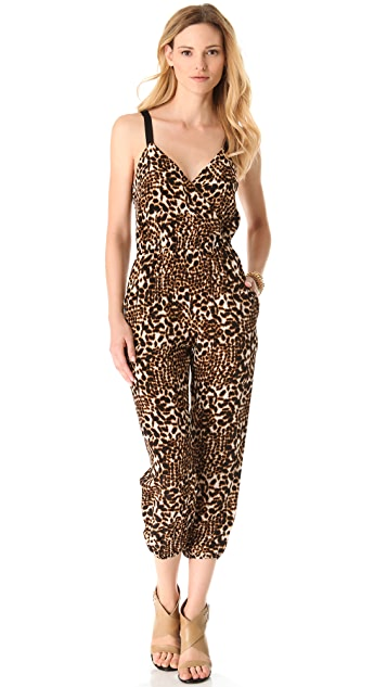Twelfth St. by Cynthia Vincent Leopard Jumpsuit